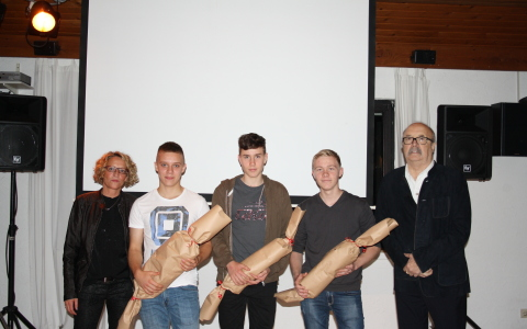 U18 des TC Geithe erfolgreich – Kreisliga-Erster und Vize bei Kreismeisterschaft
